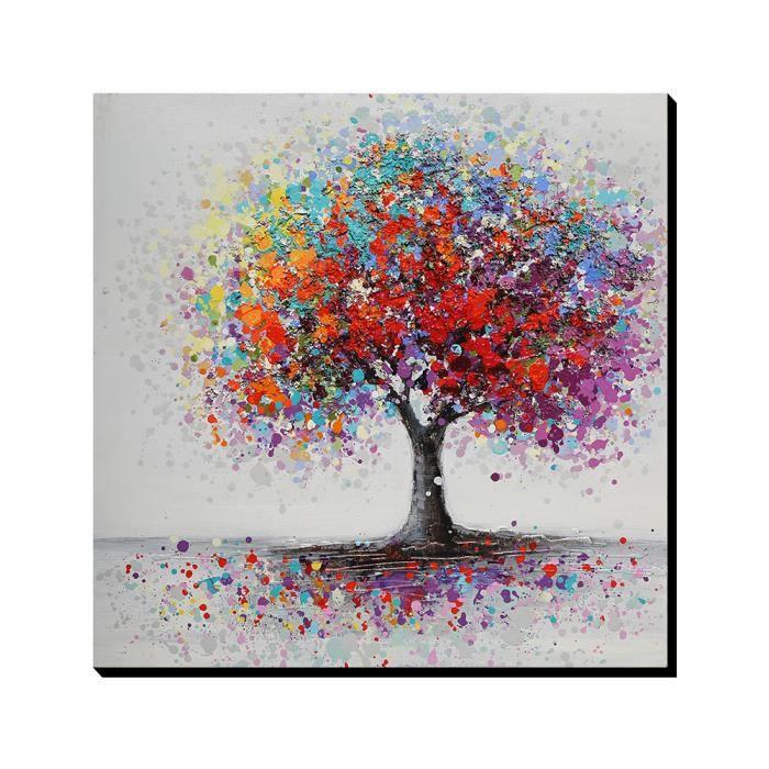Aonbat tableaux de peinture l 39 huile toile peint la for Peinture a tableau