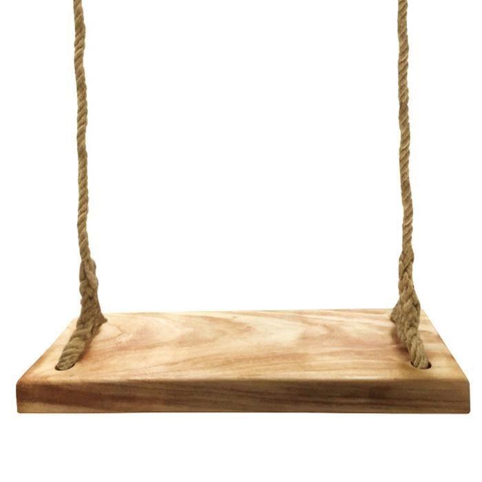224a0a3a5d33a Arbre en bois naturel Siège de balançoire