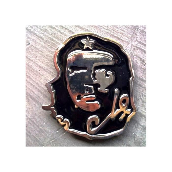 Boucle de ceinture ché guevara noir chrome kult liberté cuba - Achat ... a9cdeae6f2f