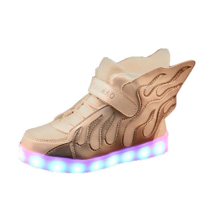 Chaussure Mode LED Light Enfant Garçon Fille Ai...