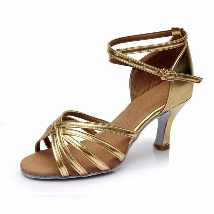 Wuzhongshangpin sale chaude nouvelle collection de Chaussures a talons hauts de danse latines a la mode pour dames-filles-femmes- Z4VtQJ