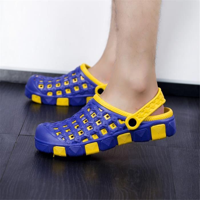 Sandale Hommes Antidérapant Haut qualité Extravagant Chaussure 2018 Beau Chaussure Confortable Durable 38-44 1zk1NvhWx