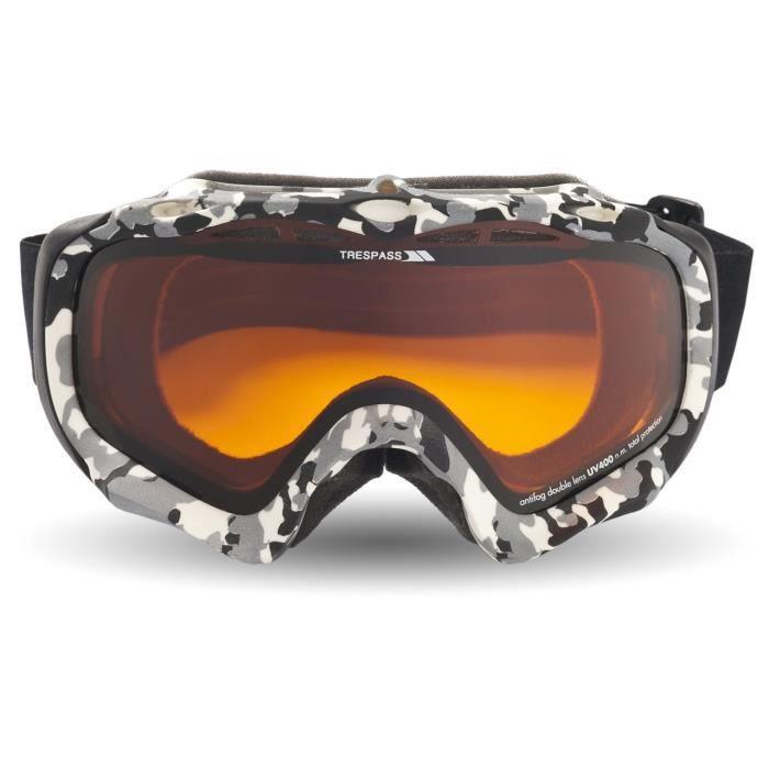 af58c5b733de95 Trespass Freyr X - Masque de ski à double lentille - Adulte mixte ...