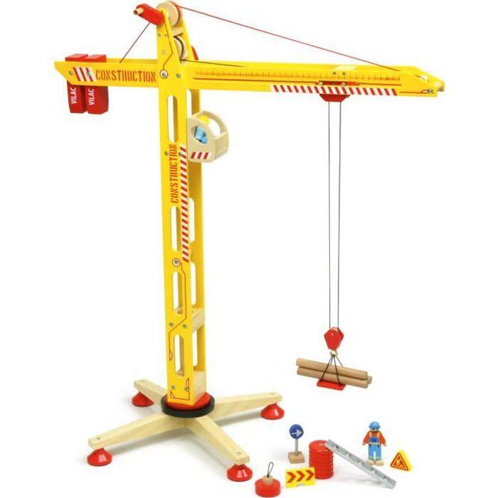 grue en bois achat vente jeux et jouets pas chers. Black Bedroom Furniture Sets. Home Design Ideas