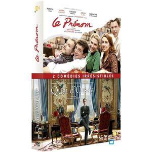 DVD FILM DVD Coffret quai d'Orsay ; le prénom
