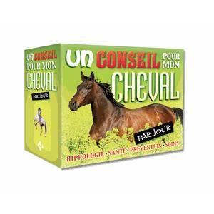 LIVRE SPORT Un conseil pour mon cheval par jour