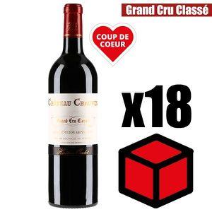 VIN ROUGE X12 Château Chauvin 2016 75 cl AOC Saint-Emilion V