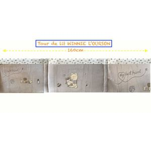 tour de lit bb tour de lit bb brod winnie luourson pour lit with chambre bebe winnie l ourson. Black Bedroom Furniture Sets. Home Design Ideas