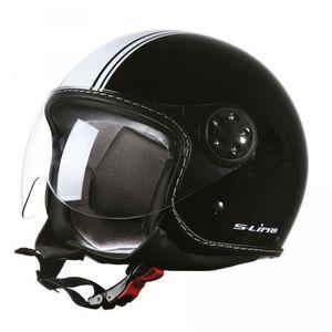 CASQUE MOTO SCOOTER Casque moto jet LuxeCity S720 NoirBlc XS