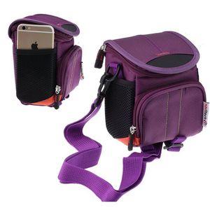 APPAREIL PHOTO BRIDGE Navitech housse étui violet pour appareil photo /
