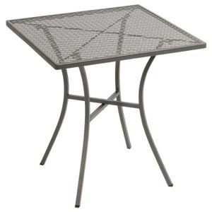 MANGE-DEBOUT Boléro gris acier Patterned Place Bistro Table 700