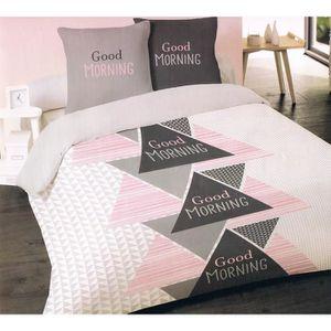 housse de couette flanelle 220x240 achat vente pas cher. Black Bedroom Furniture Sets. Home Design Ideas