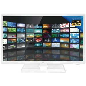 PACK TV LED ET ACCESSOIRES DUAL Téléviseur LED Camping Car Full HD 24'' - 12V