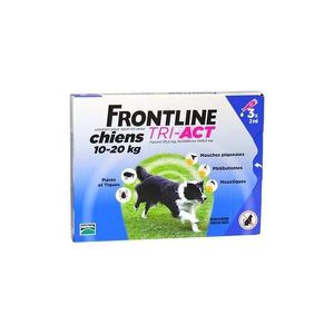 ANTIPARASITAIRE Frontline Tri-Act Chien 10-20kg