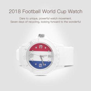 MONTRE BAGUE montre à quartz thème 2018 la Coupe du monde de fo
