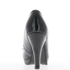 ESCARPIN Escarpins noirs à talon de 9cm e...