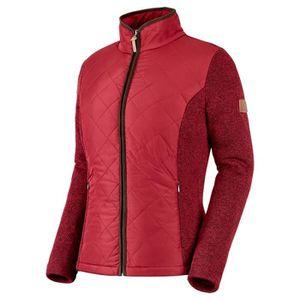 mode designer 18a42 c5bf7 Veste polaire femme rouge - Achat / Vente pas cher - Cdiscount