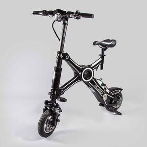VÉLO ASSISTANCE ÉLEC Vélo électrique draisienne pliant noir de SCOOTY m