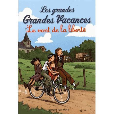 Livre 6-9 ANS Les grandes Grandes Vacances Tome 4