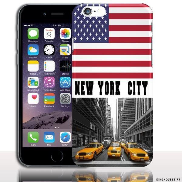 coque iphone 6 silicone new york