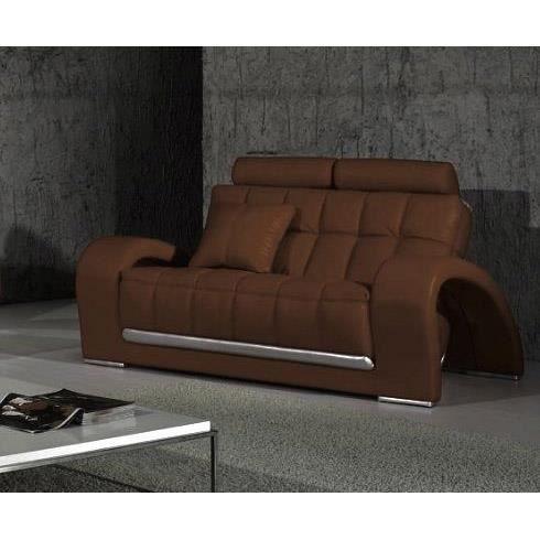 canape cuir 2 places design marron et gris Résultat Supérieur 50 Nouveau Canape Cuir 2 Places Marron Pic 2017 Kqk9