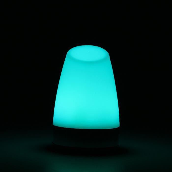 Led À Lumière Lampe 89140mm 7 Décoration Couleur Rechargeable bfy76g