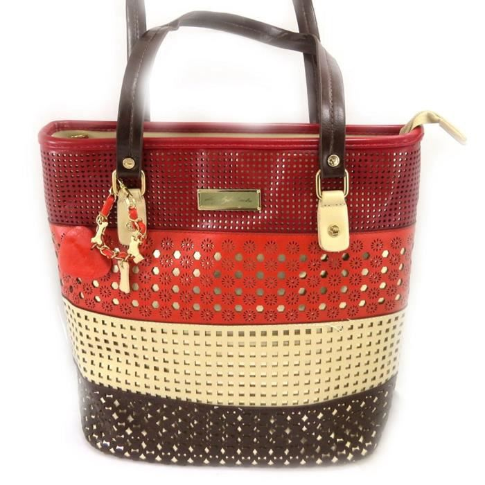 Sac créateur Dogs by Beluchi rouge