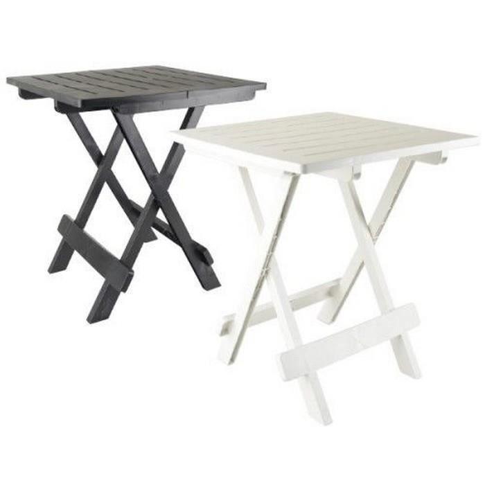 Table Pliante En Plastique. Interesting Luxe Table De Jardin Pliante ...