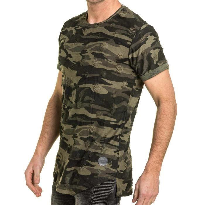 Camouflage T Shirt Homme T Shirt Shirt Dechrie Homme T Dechrie Camouflage 8NnwkX0OP