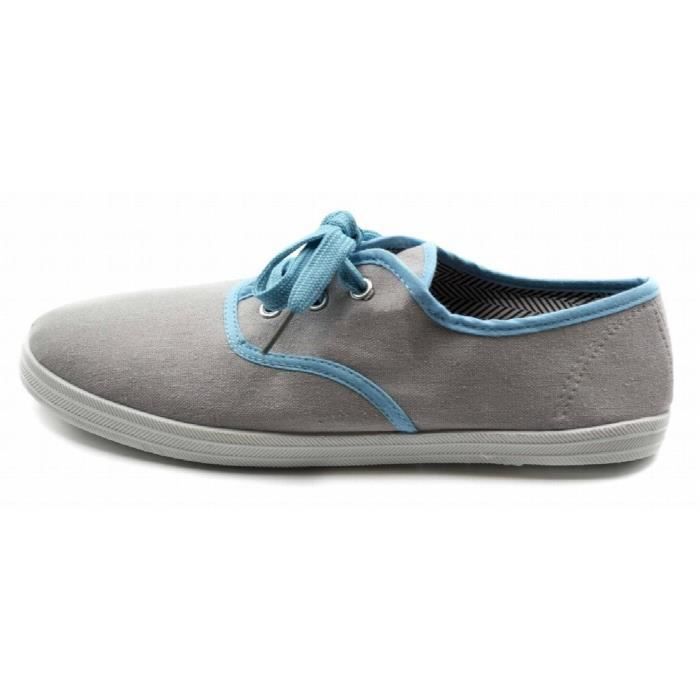 Taille Lace up 40 sneakers canvas YV2E8 xwq4ZpI4