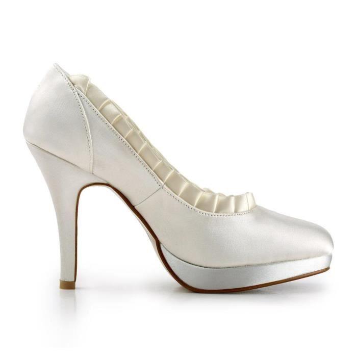Jia Jia Wedding 3703H chaussures de mariée mariage Escarpins pour femme