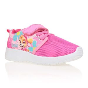 0b52cdbea668b BASKET PAT PATROUILLE Baskets Enfant Fille - Rose