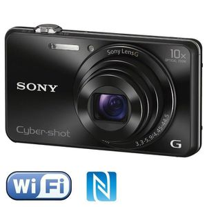APPAREIL PHOTO COMPACT SONY DSC-WX220 Noir - CMOS 18 MP Zoom 10x Appareil