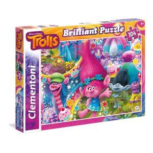 PUZZLE TROLLS Puzzle Brilliant 104 pièces