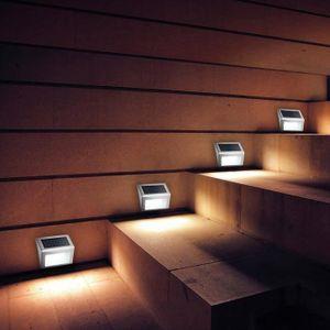 LAMPADAIRE IMMIGOO® Lot de 2 Picecs LED Lampe Solaire Luminai