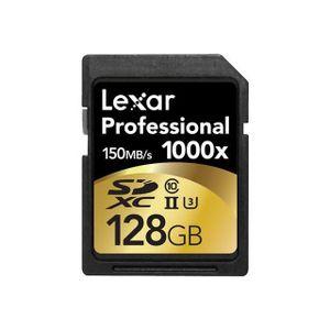 CARTE MÉMOIRE LEXAR Carte SD - SDHC - UHS2 - 128GB
