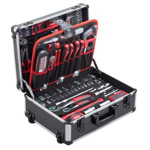 PACK OUTIL A MAIN MEISTER Trolley à outils 156 pièces