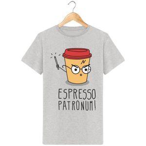 BASKET T-shirt harry potter homme Espresso Patronum