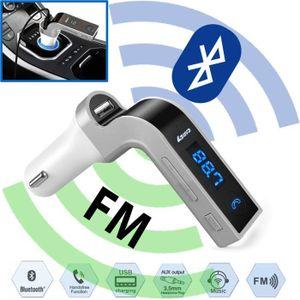 TRANSMETTEUR FM Voiture Bluetooth Transmetteur FM MP3 Lecteur Sans