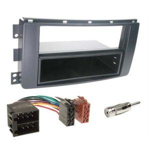 INSTALLATION AUTORADIO Kit montage autoradio 1 DIN  pour Smart Car ForTwo