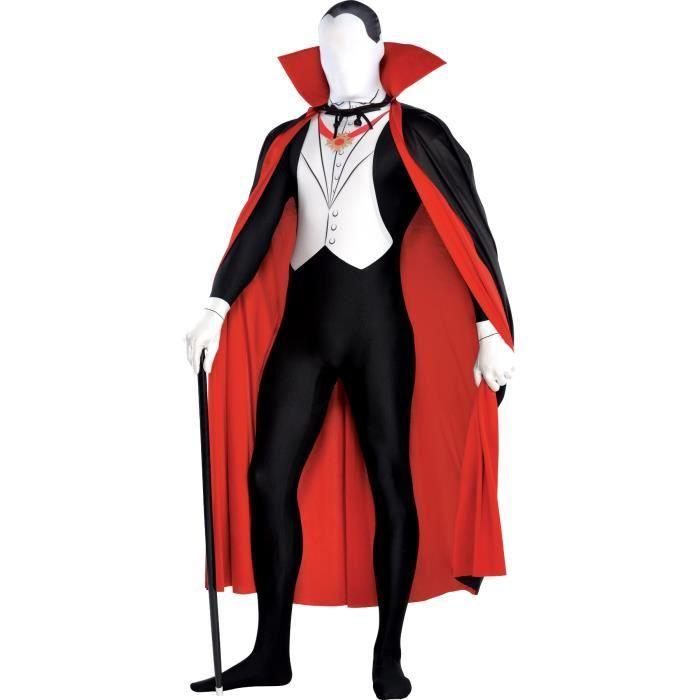 Combaison moulante de vampire - 2 tailles disponibles - Homme et Femme - Livré à l'unitéDEGUISEMENT - PANOPLIE DE DEGUISEMENT
