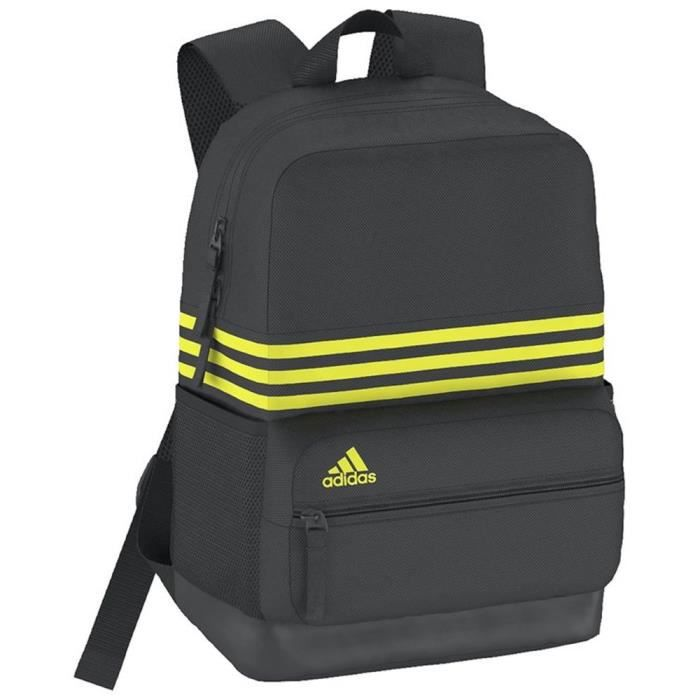 e4c4eb7e5f Sac a dos Adidas Sports Backpack XS 3 Stripes AY5110 Jaune - Achat ...