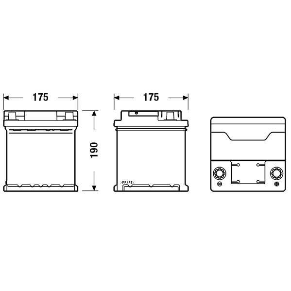 BATTERIE VÉHICULE FULMEN Batterie auto FORMULA FB440 (+ droite) 12V