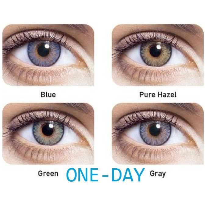 Freshlook one day pure hazel 2 LENTILLES - Achat   Vente lentilles ... 13566ed4e043