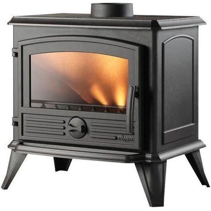 invicta po le bois samara 8 kw achat vente po le insert foyer po le bois samara. Black Bedroom Furniture Sets. Home Design Ideas