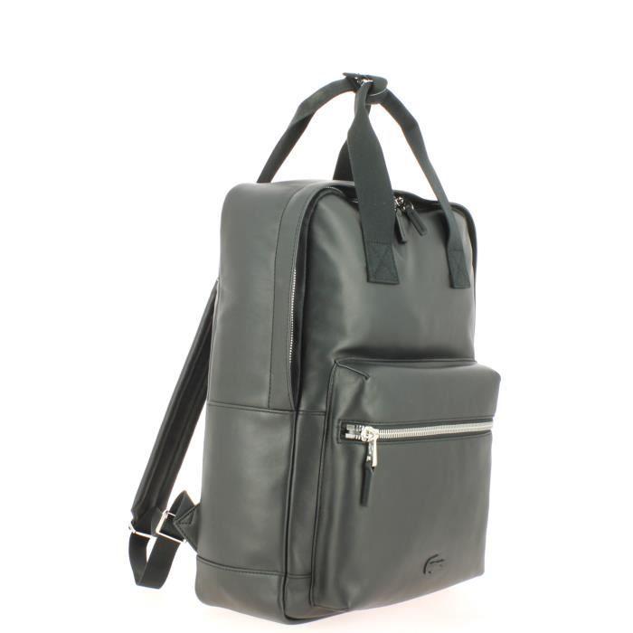 8f75a29a28 Sac à dos LACOSTE Backpack Cuir - Achat / Vente sac à dos ...