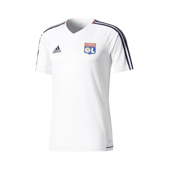 maillot entrainement Olympique Lyonnais de foot