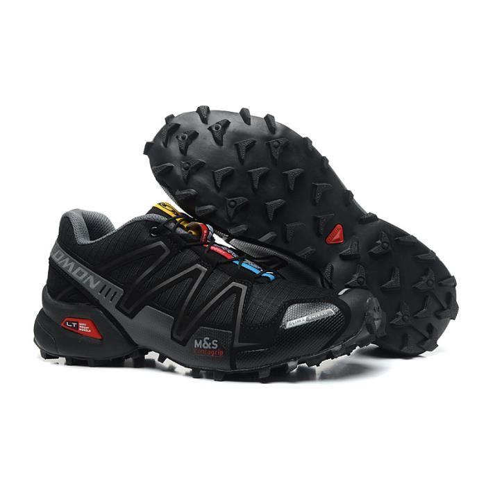 Nouvelle Chaussure Trail Salomon Speedcross 3 Cs Gris