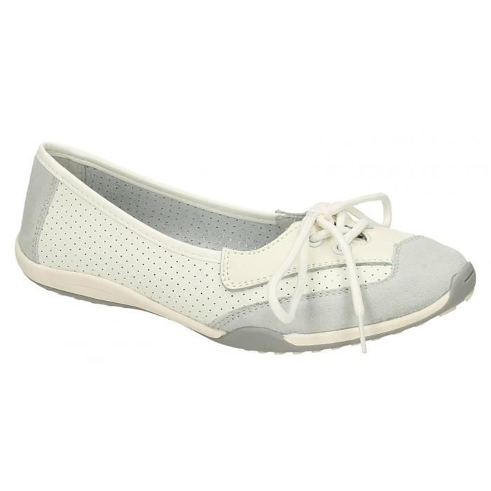 Down To Earth - Ballerines à lacets - Femme 7034B