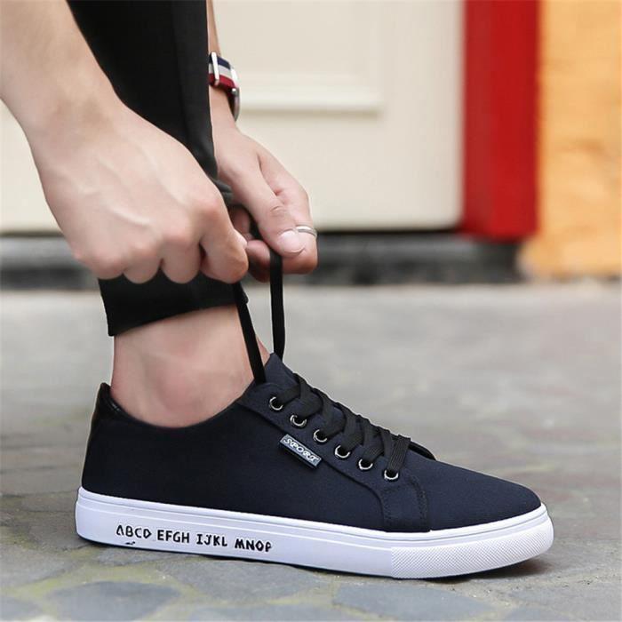 Sneakers Hommes Plus De Couleur Nouvelle arrivee Sneaker Poids Léger Qualité Supérieure Simple Chaussure Confortable Durable 39-44 wWvdWIc